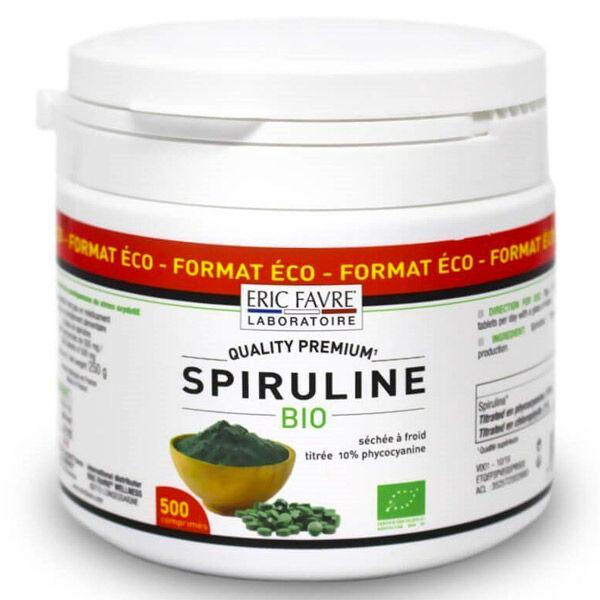 Eric Favre Spiruline Vegan Bio 500 comprimés