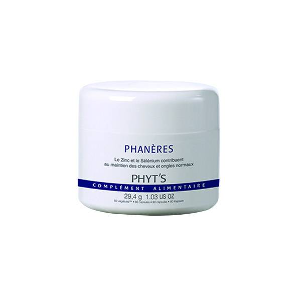 Phyt's Soins Capillaires Phanères 80 gélules végétales