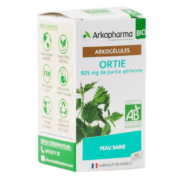 Arkopharma Arkogélules Ortie Peau Saine Bio 45 gélules