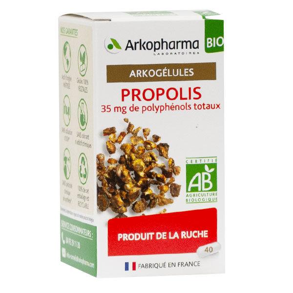 Arkopharma Arkogélules Propolis Bio 40 gélules
