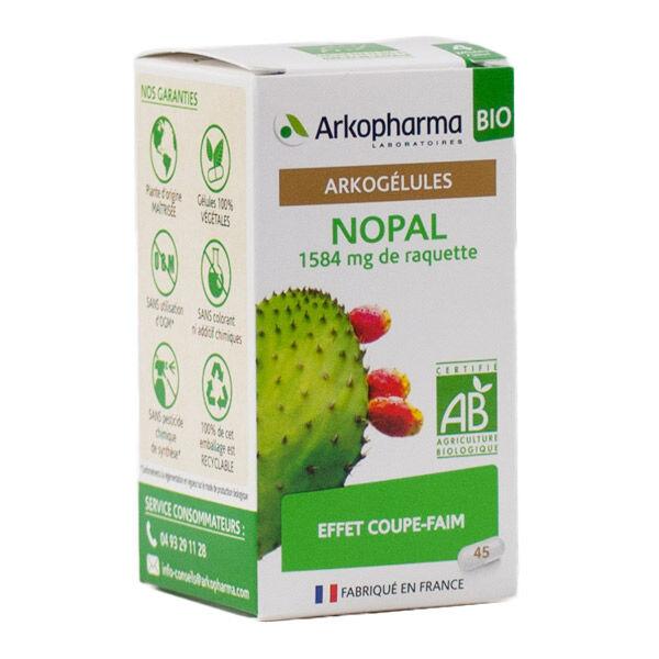 Arkopharma Arkogélules Nopal Effet Coupe-Faim Bio 45 gélules