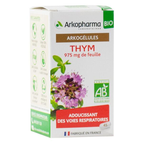 Arkopharma Arkogélules Thym Bio 45 gélules