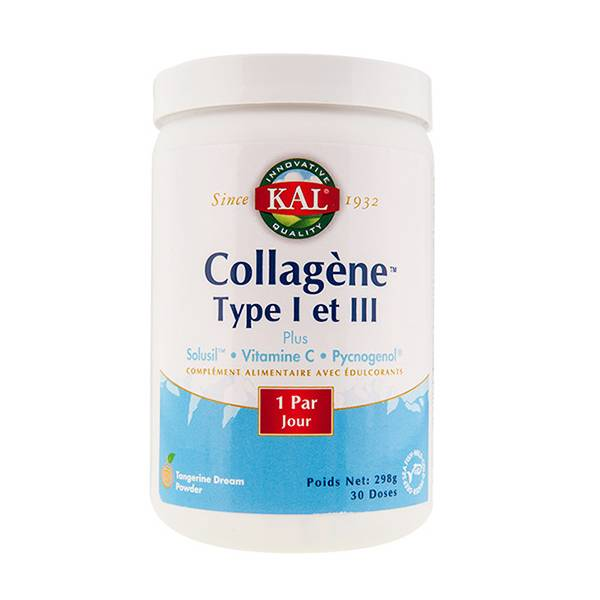 Kal Collagène Marin Type I et III 30 doses