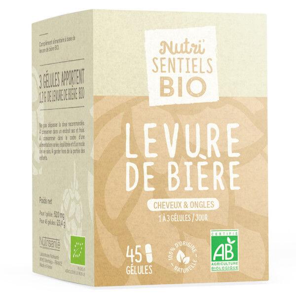 Nutrisanté Les Nutri'Sentiels Bio Levure De Bière 45 Gélules