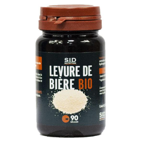 SIDN Levure de Bière Bio 90 gélules
