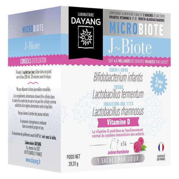 Dayang Microbiote J-Biote Framboise 14 sachets