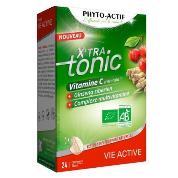 Phytoactif X'tra Tonic Vie Active Bio 24 comprimés
