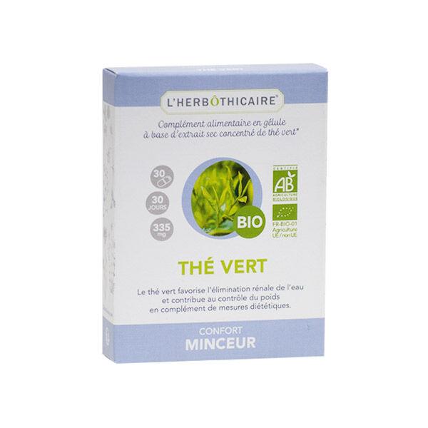 L'Herbôthicaire Confort Minceur Thé Vert Bio 30 gélules