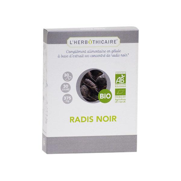L'Herbôthicaire Radis Noir Bio 30 gélules