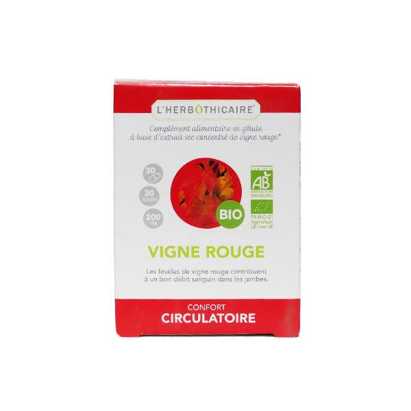 L'Herbôthicaire Extrait Sec Vigne Rouge 200mg 30 gélules