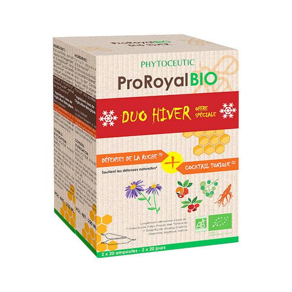 Pro Royal Bio Duo Hiver Cocktail Tonique + Défenses de la Ruche 2 x 20 ampoules