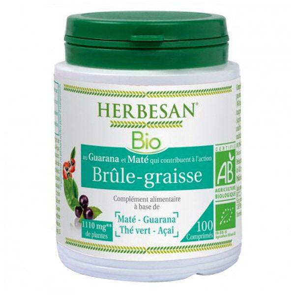 Herbesan Maté Brûle-Graisse Bio 100 comprimés