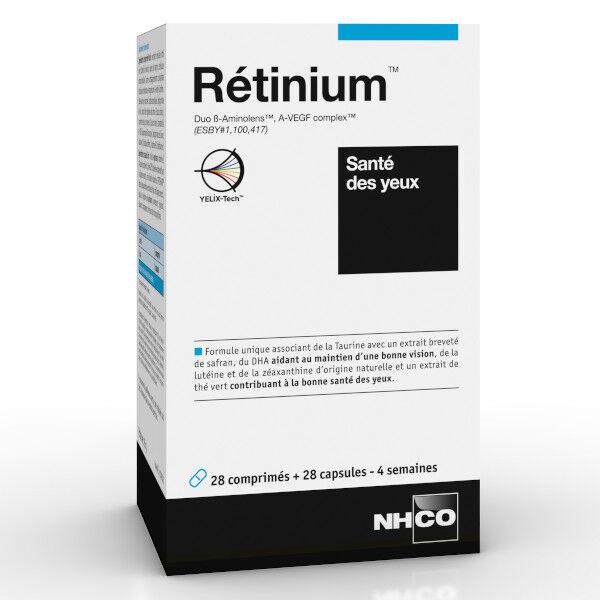 Nhco Rétinium Santé des Yeux 28 gélules + 28 comprimés