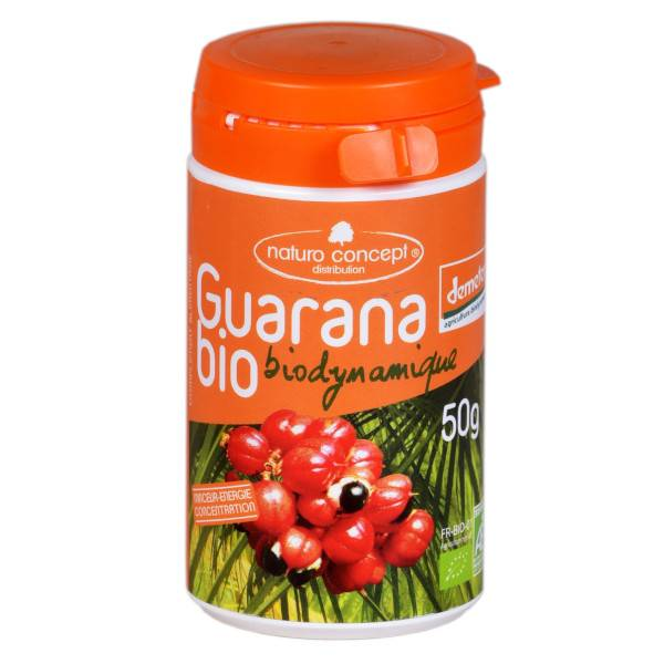 Naturo Concept Poudre de Guarana Biodynamique 50g