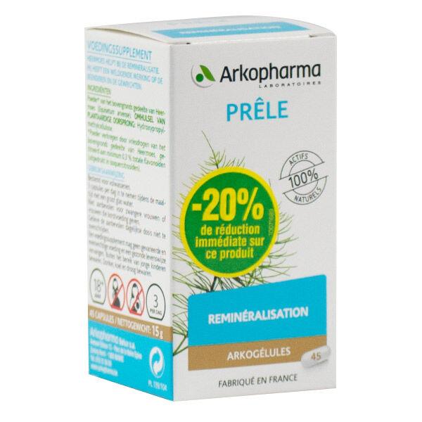 Arkogélules Prêle 45 gélules - BRI 20%