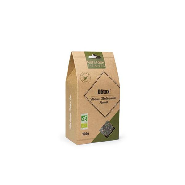 0001695 Nat & Form Tisane Detox Bio 100g