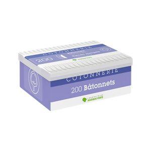Marque Verte Bâtonnets Coton 200 unités - Publicité