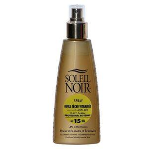 Soleil Noir Spray Huile Sèche Vitaminée SPF15 150ml