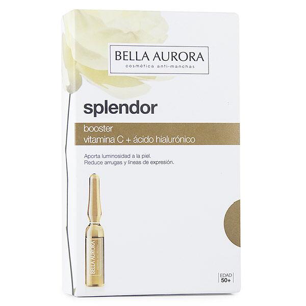Bella Aurora Splendor Booster Vitamine C + Acide Hyaluronique 5 ampoules