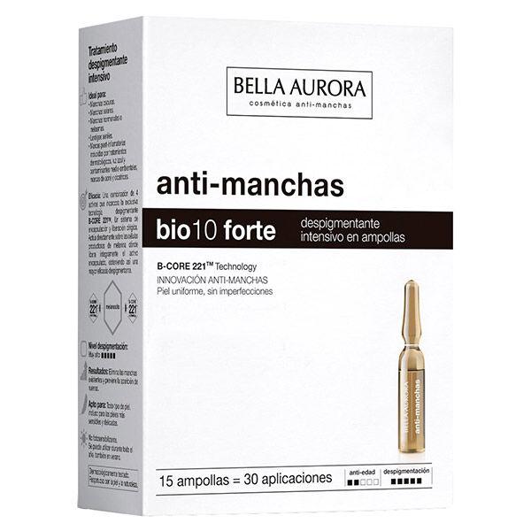 Bella Aurora Bio10 Forte Soin Anti-Tâches Intensif 15 ampoules