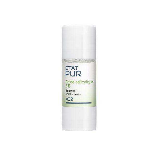 Etat Pur Actif Pur Acide Salicylique 2% A22 15ml