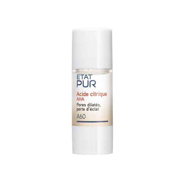Etat Pur Actif Pur Acide Citrique AHA A60 15ml