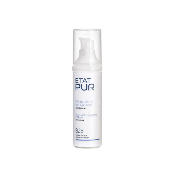 Etat Pur Crème Riche Hydratante B25 40ml