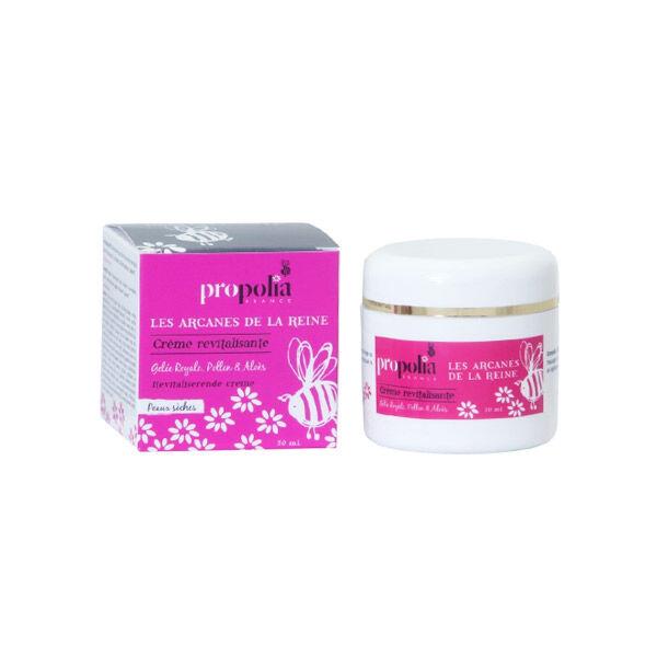 Propolia Les Arcanes de la Reine Crème Revitalisante Peaux Sèches Gelée Royale Pollen & Aloès 50ml