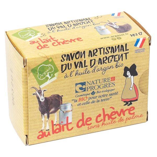 Argasol Savon Artisanal du Val d'Argent Lait de Chèvre Bio 140g