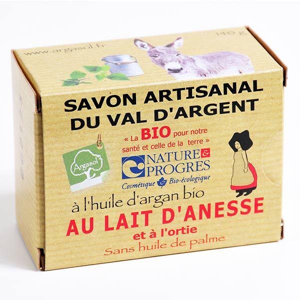 Argasol Bio Savon Lait d'Anesse et Ortie 140g