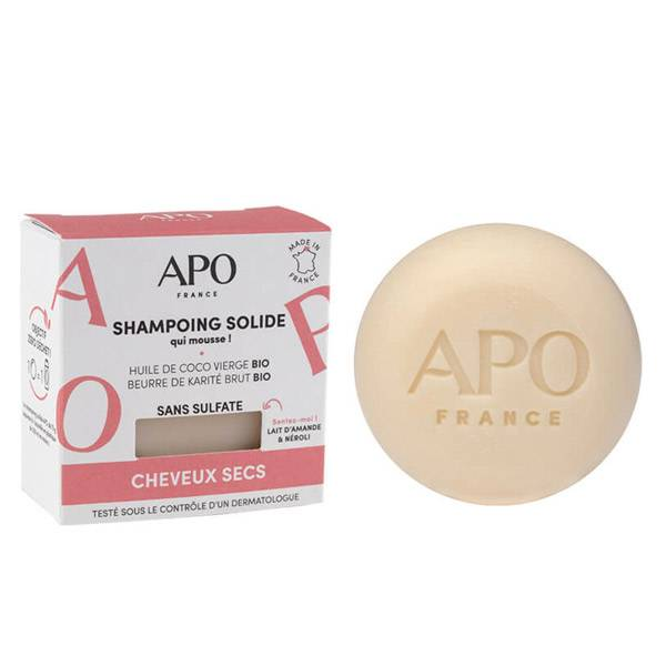 APO Shampooing Solide Cheveux Secs 75g