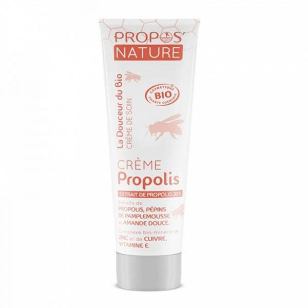 Propos'Nature Crème à la Propolis Bio 100ml