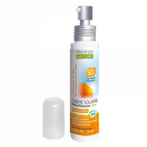 Propos'Nature Propos' Nature Cosmétique Crème Solaire Haute Protection SPF50+ Bio 75ml