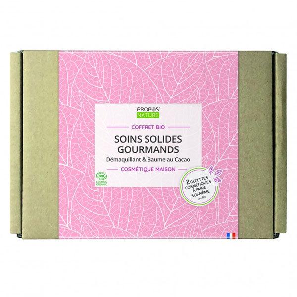 Propos'Nature Cosmétique Maison Coffret Bio Soins Solides Gourmands