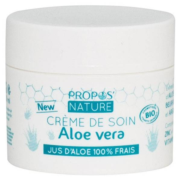 Propos'Nature Propos' Nature Cosmétique Crème de Soin Aloe Vera Bio 50ml