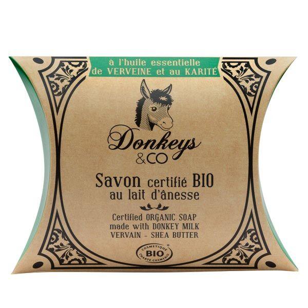Donkeys & Co Savon Au Lait d'Ânesse Verveine Karité Bio 100g