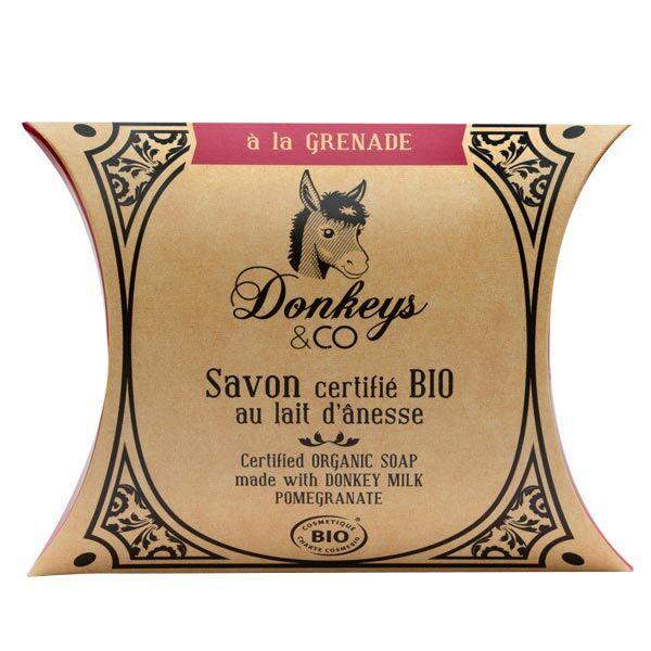 Donkeys & Co Savon Au Lait d'Ânesse Grenade Bio 100g