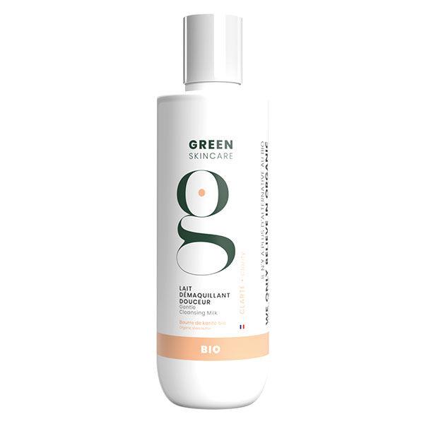 Green Skincare Clarté Lait Démaquillant Douceur Bio 200ml