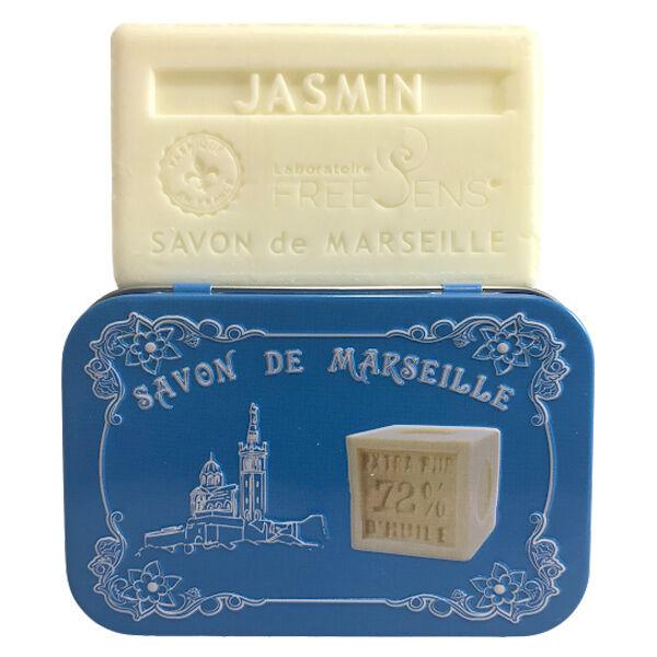 Freesens Savon de Marseille Jasmin 100g
