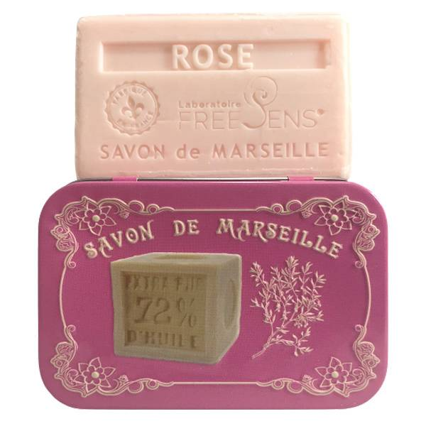 Freesens Savon de Marseille Rose 100g