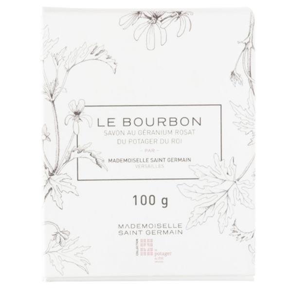 Mademoiselle Saint Germain Le Bourbon Savon au Géranium Rosat du Potager du Roi 100g