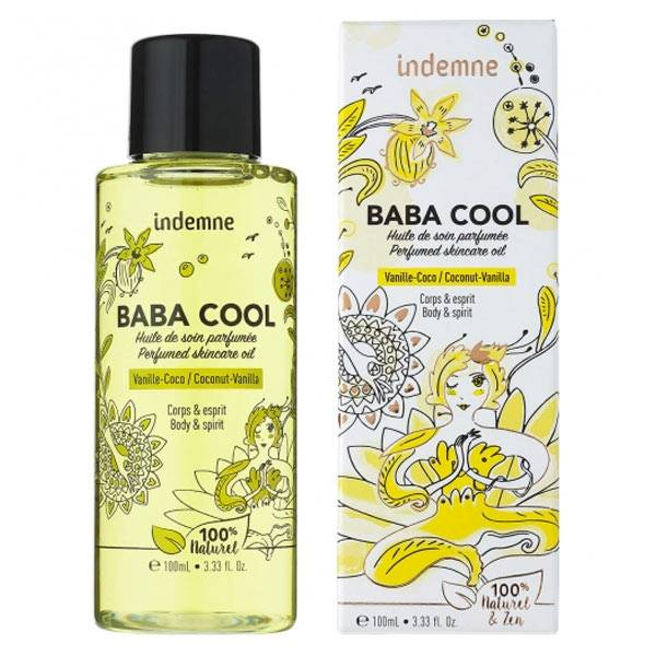 Indemne Baba Cool Huile Vanille Coco 100ml