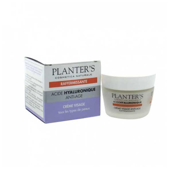 Planter's Acide Hyaluronique Crème Visage Anti-âge Raffermissante 50ml