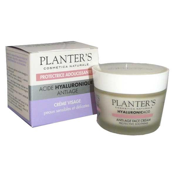 Planter's Acide Hyaluronique Crème Visage Anti-Age Protectrice 50ml