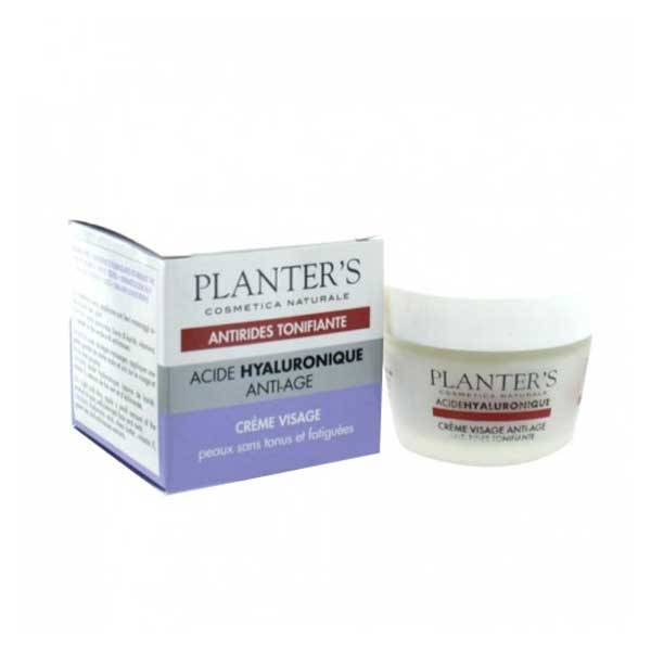 Planter's Acide Hyaluronique Crème Visage Anti-âge Tonifiante 50ml