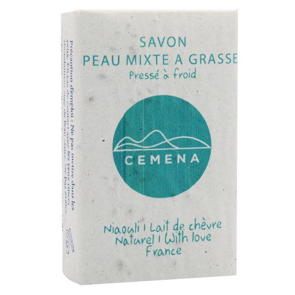 Cemena Savon au Lait de Chèvre Peau Mixte à Grasse Pressé à Froid 100g