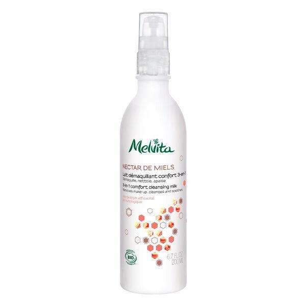 Melvita - Nectar de Miels - Lait Démaquillant Confort 200ml