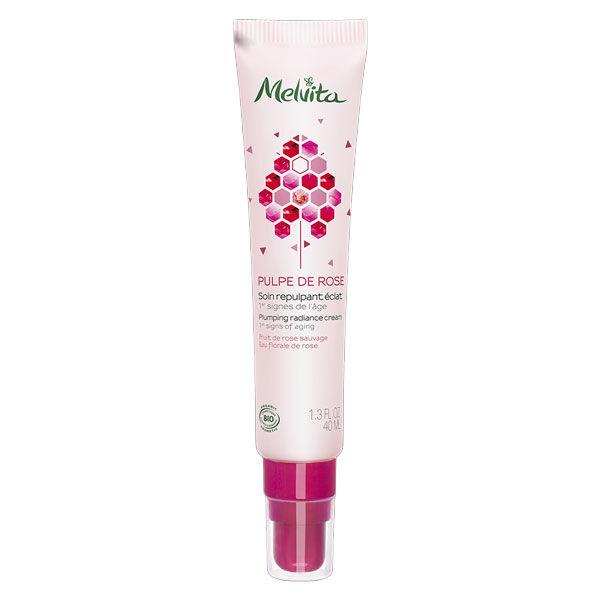 Melvita Pulpe de Rose Soin Repulpant Éclat Bio 40ml