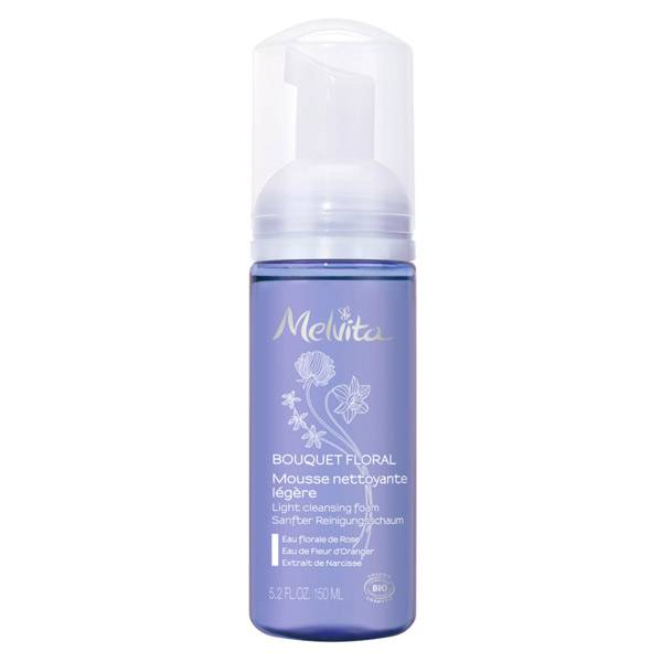 Melvita - Bouquet Floral - Mousse Nettoyante 150ml