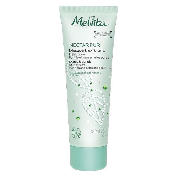 Melvita Nectar Pur Masque Exfoliant Purifiant Bio 75ml